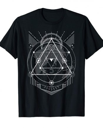 The Mighty Metatron Sacred Geometry Gift Designs T-Shirt