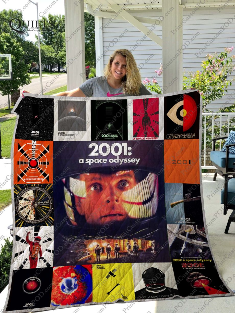 A Space Odyssey Quilt Blanket KP-185