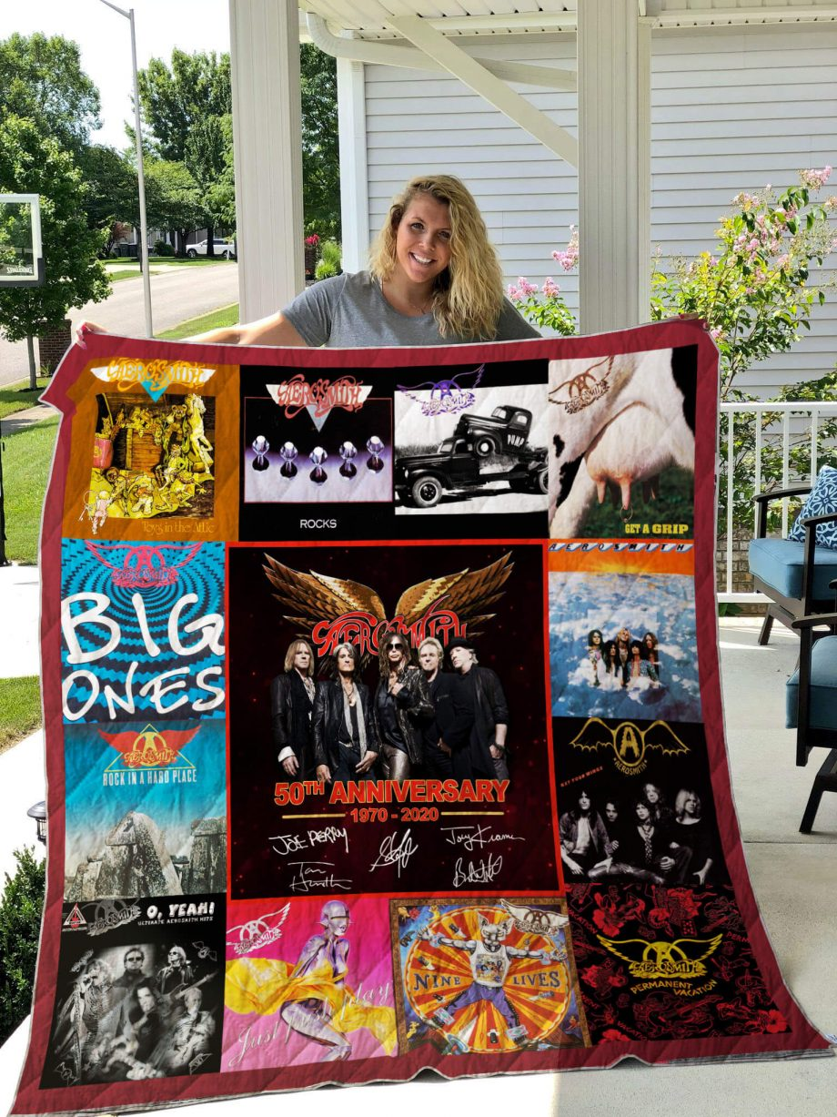 50 Years Of AE Quilt Blanket