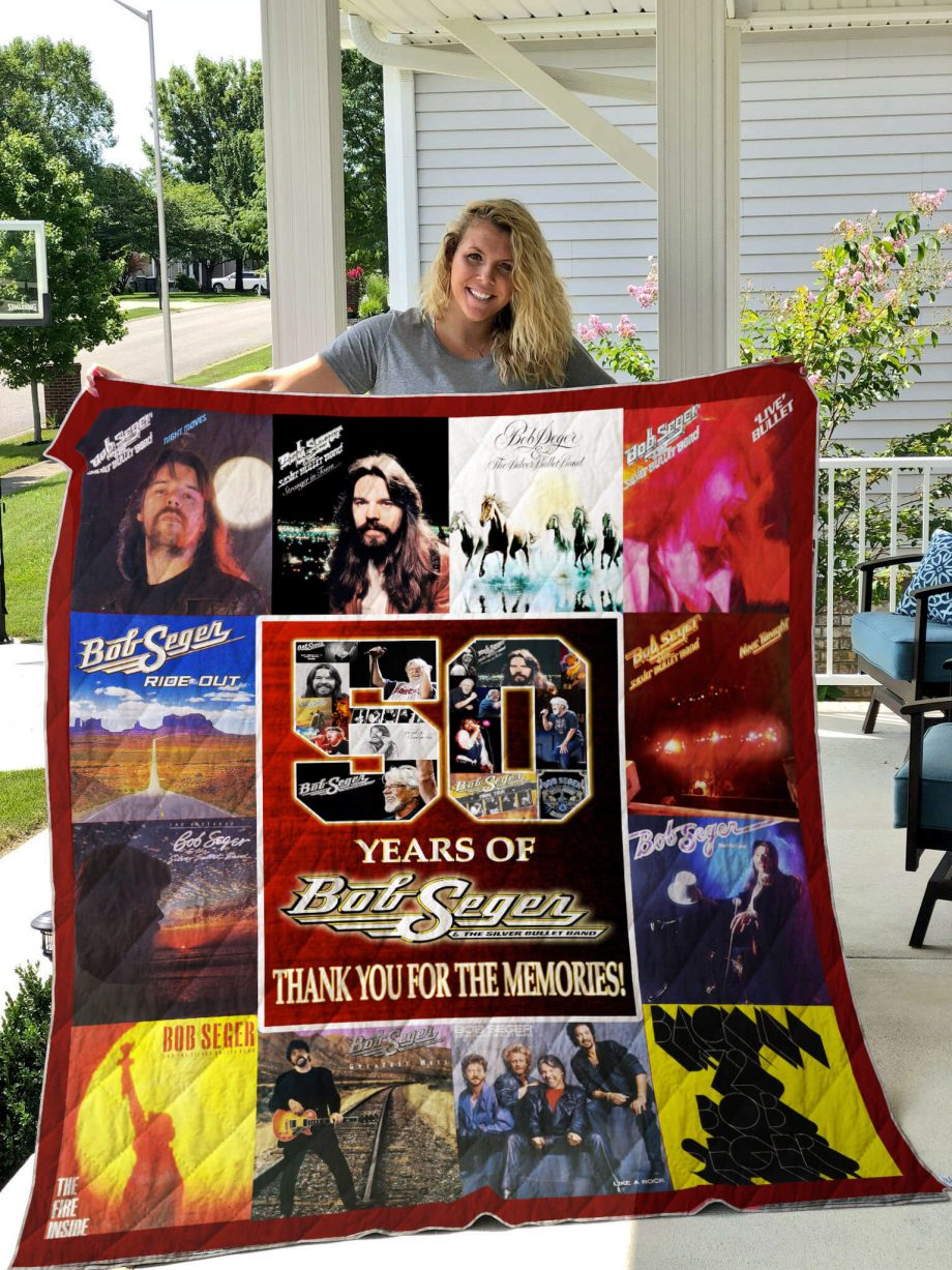 50 Years Of Bob Quilt Blanket