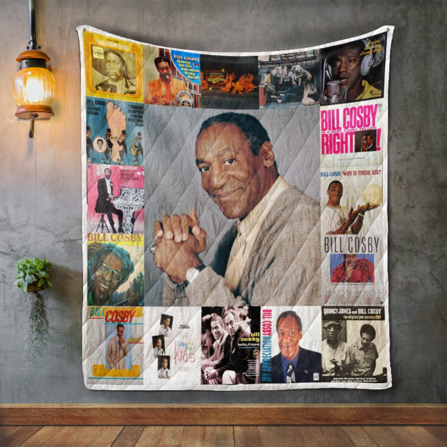 Bill Cosby Album Covers Quilt Blanket