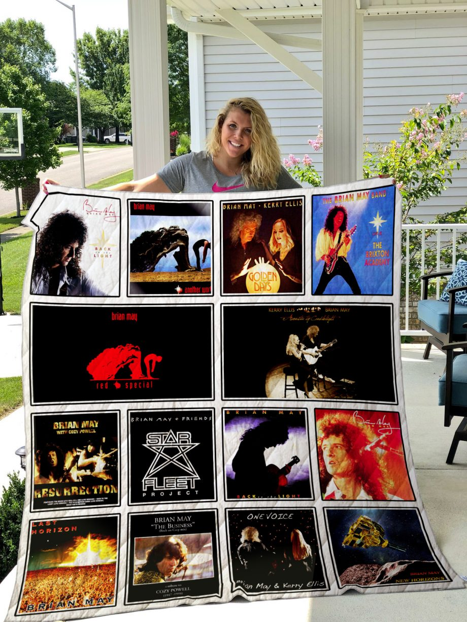 Brian May Quilt Blanket