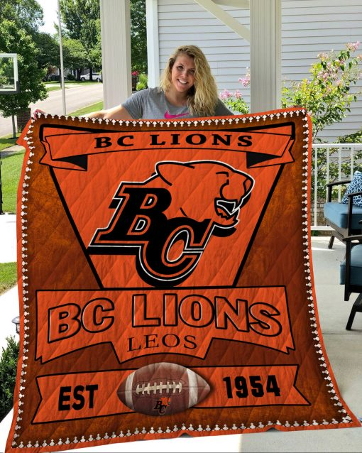 Bc Lions Quilt Blanket LC1
