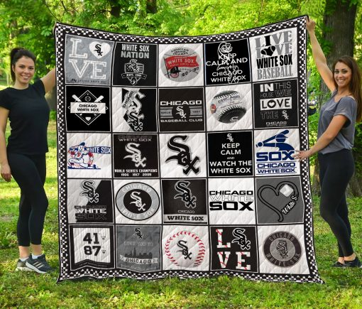 Chicago White Sox Quilt Blanket LC5