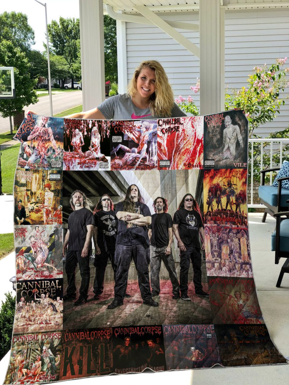 Cannibal Corpse Quilt Blanket