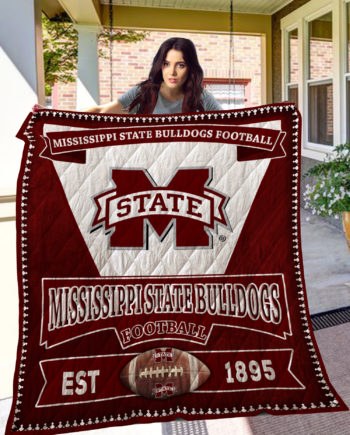 Mississippi State Bulldogs Quilt Blanket LC8 KP-194