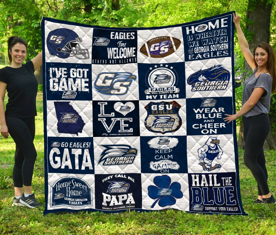 Georgia Southern Eagles Quilt Blanket LC5