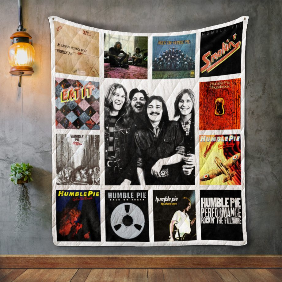 Humble Pie Album Covers Quilt Blanket