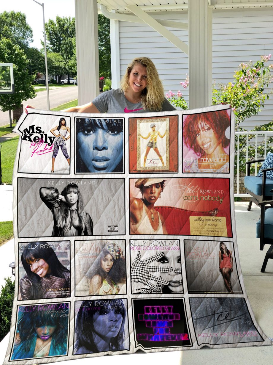Kelly Rowland Quilt Blanket