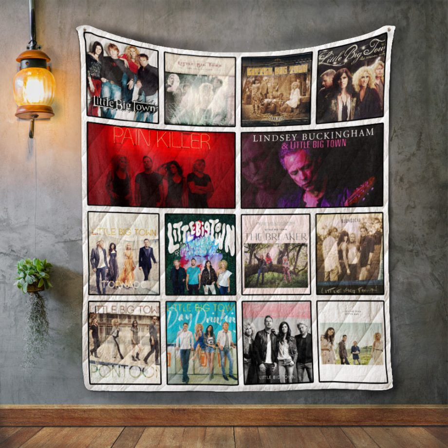 Little Big Town Album Covers Quilt Blanket
