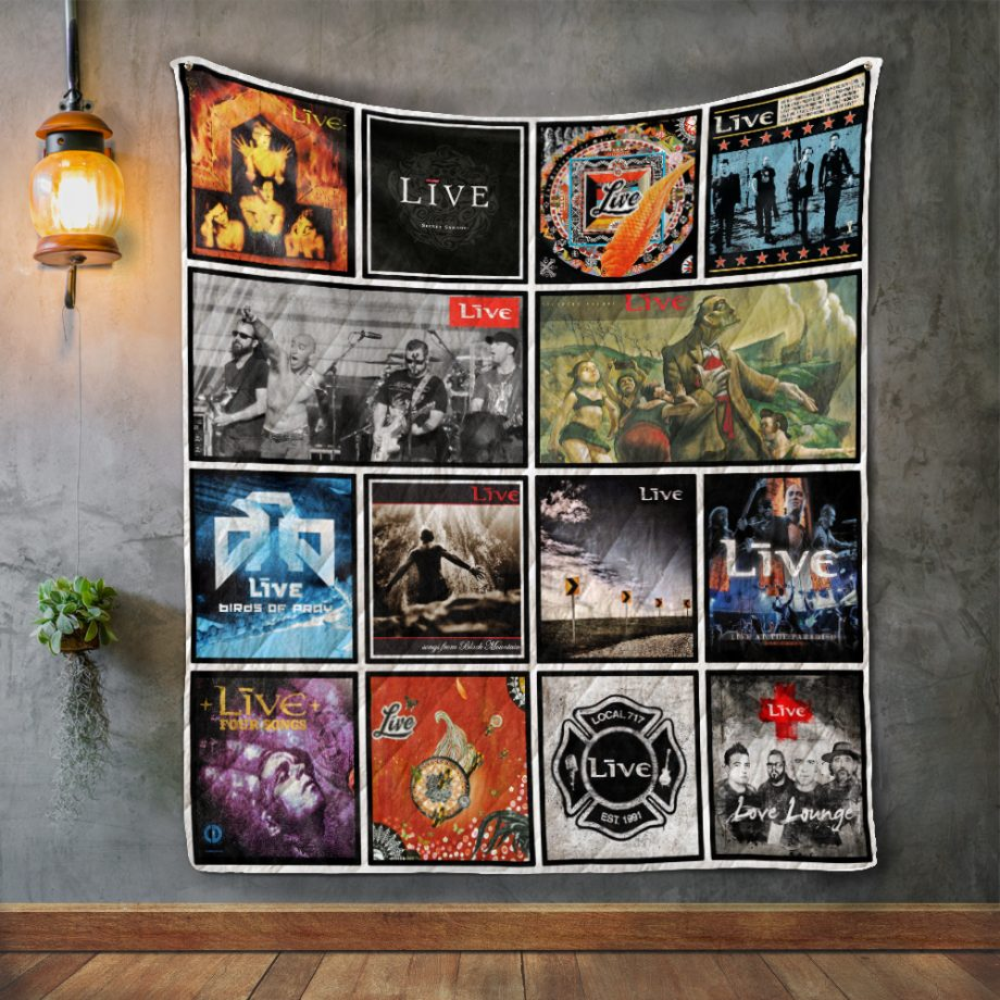Little River Band Album Covers Quilt Blanket