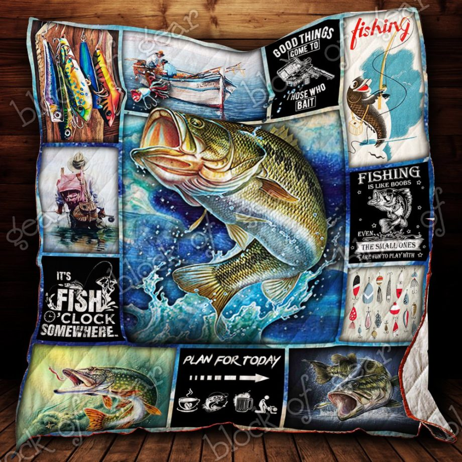 Fishing Time Quilt P182 KP-47