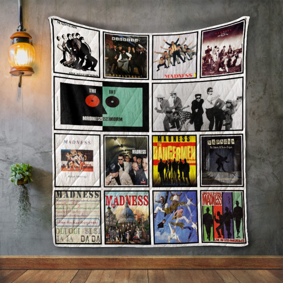 Madness Album Covers Quilt Blanket