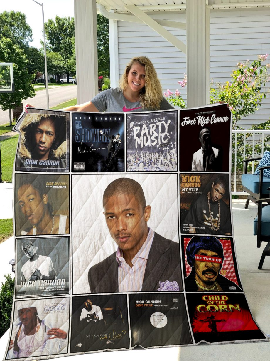 Nick Cannon Quilt Blanket