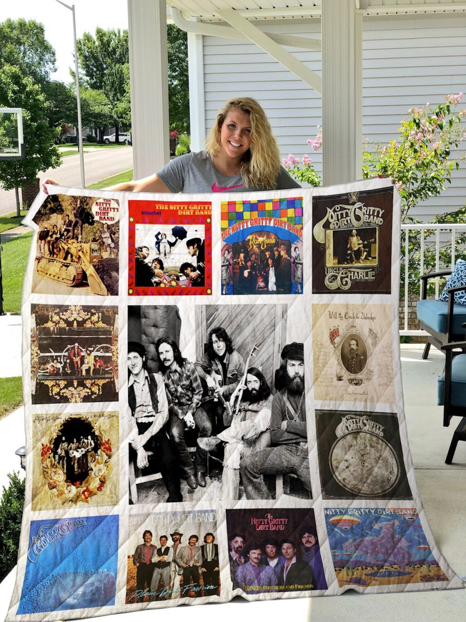 Nitty Gritty Dirt Band 2 Quilt Blanket