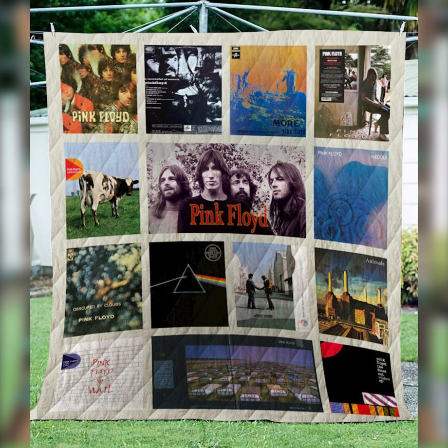 Pink Floyd Quilt NEW