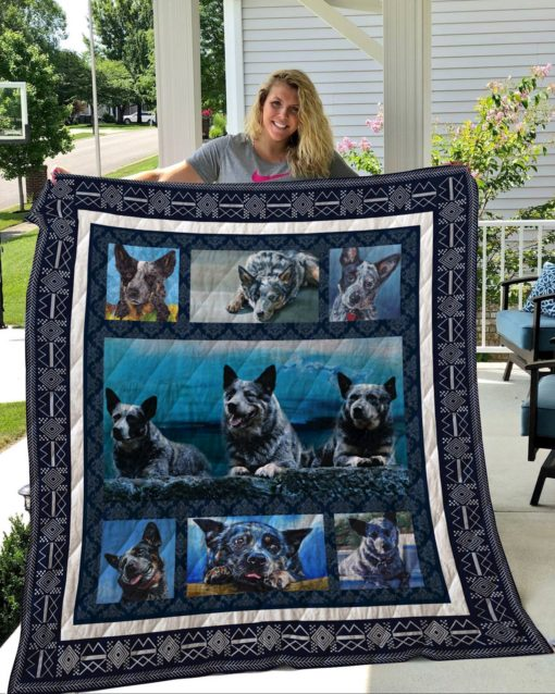 Australian Cattle Dog Quilt Blanket LC5