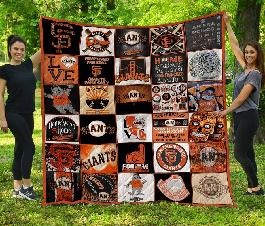 Mlb San Francisco Giants Quilt Blanket