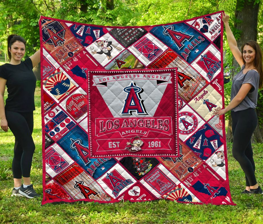Los Angeles Angels Quilt Blanket LC3