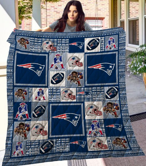 New England Patriots Quilt Blanket LC6