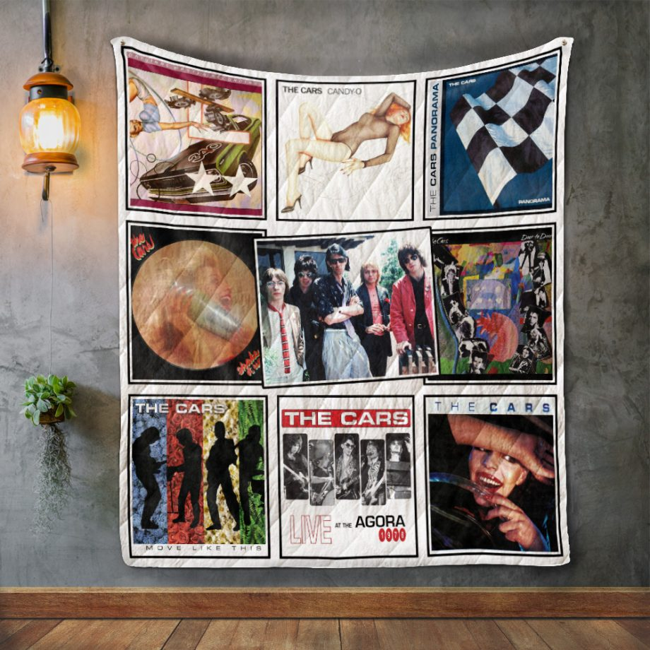 The Cars Album Covers Quilt Blanket