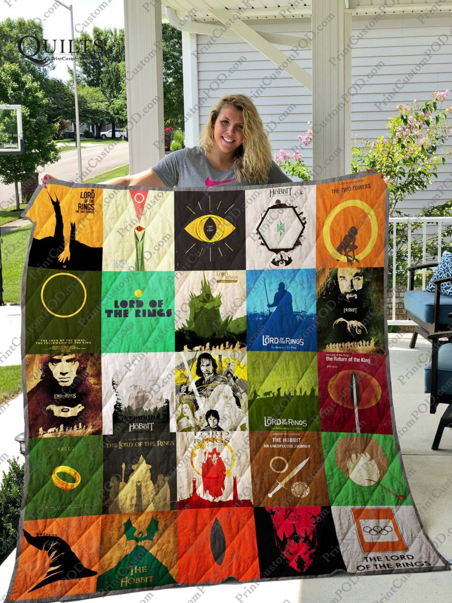 The Lord of the Rings Quilt Blanket