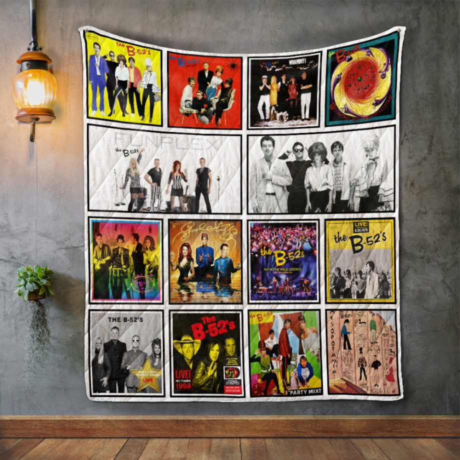 The B52#8217s Album Covers Quilt Blanket