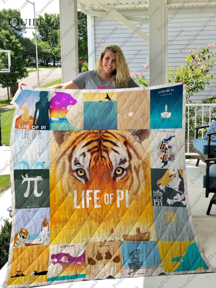 The Life of Pi Quilt Blanket KP-180