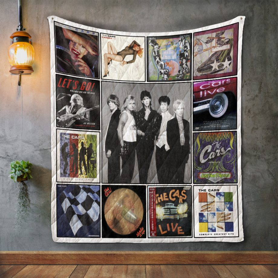 The Cars 2 Album Covers Quilt Blanket