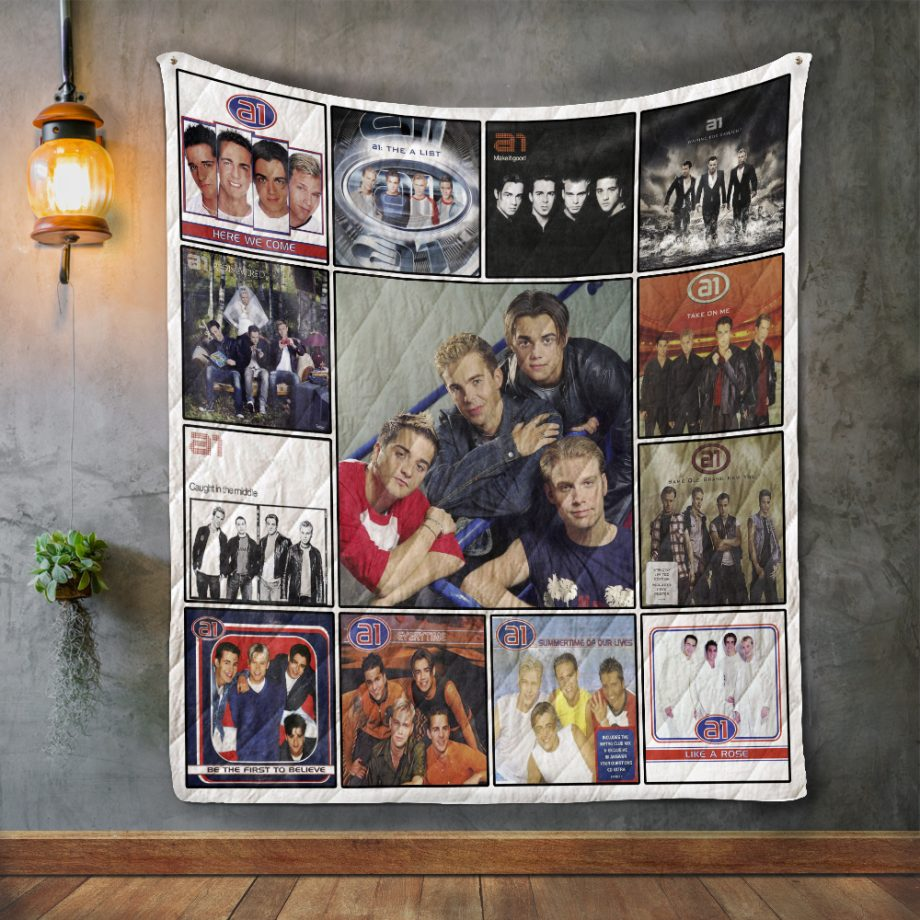 A1 Band Album Covers Quilt Blanket