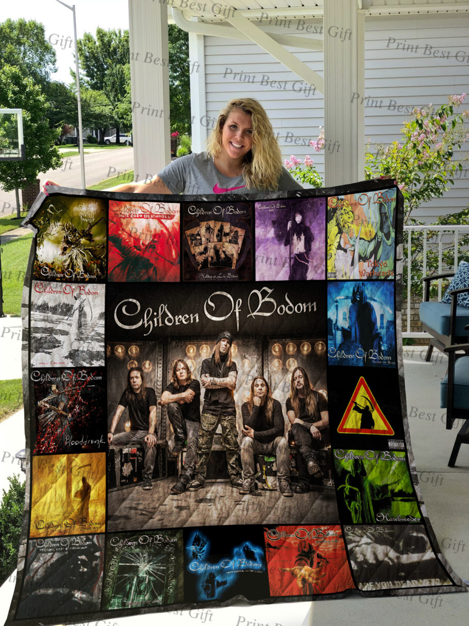 Children of Bodom Albums Cover Poster Quilt