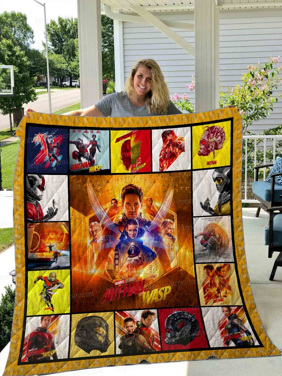 Ant man and the wasp Quilt Blanket 01