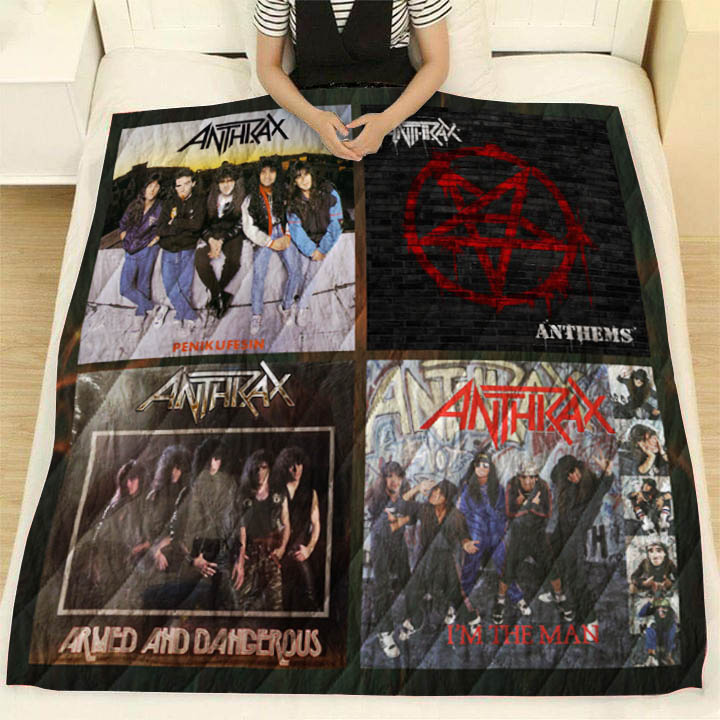 Anthrax EP Quilt Blanket