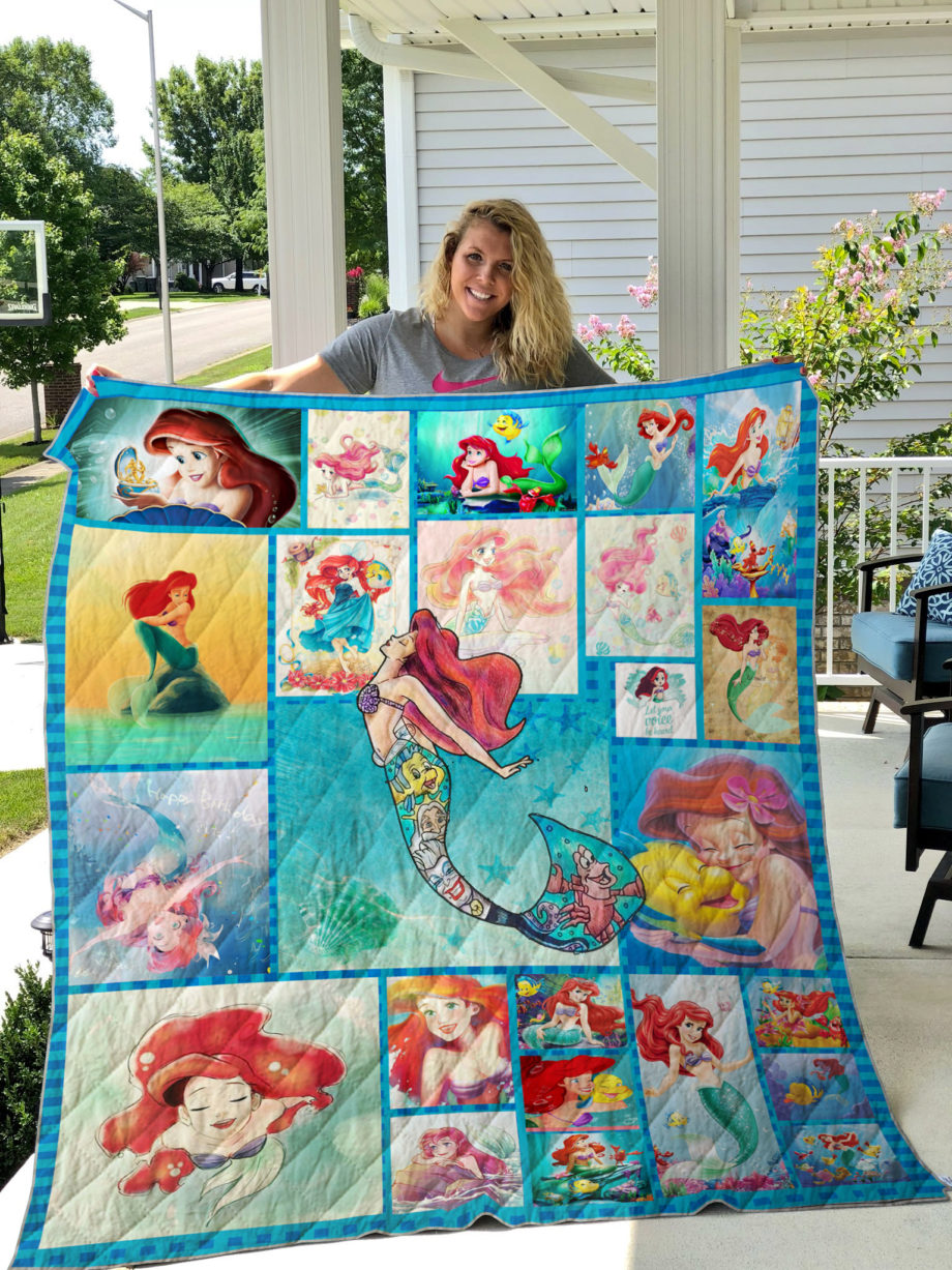 Ariel The Little Mermaid Quilt On Sale!