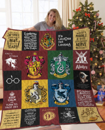 [B] Harry Potter Quilt Blanket For Fans Ver 20-1 KP-405