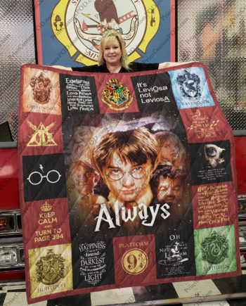 [pe] Harry Potter Quilt Blanket Ver 17 New KP-385
