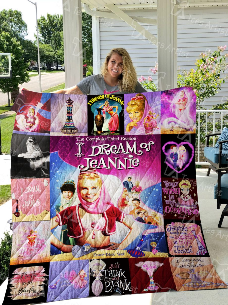 I Dream of Jeannie Quilt Blanket 0410