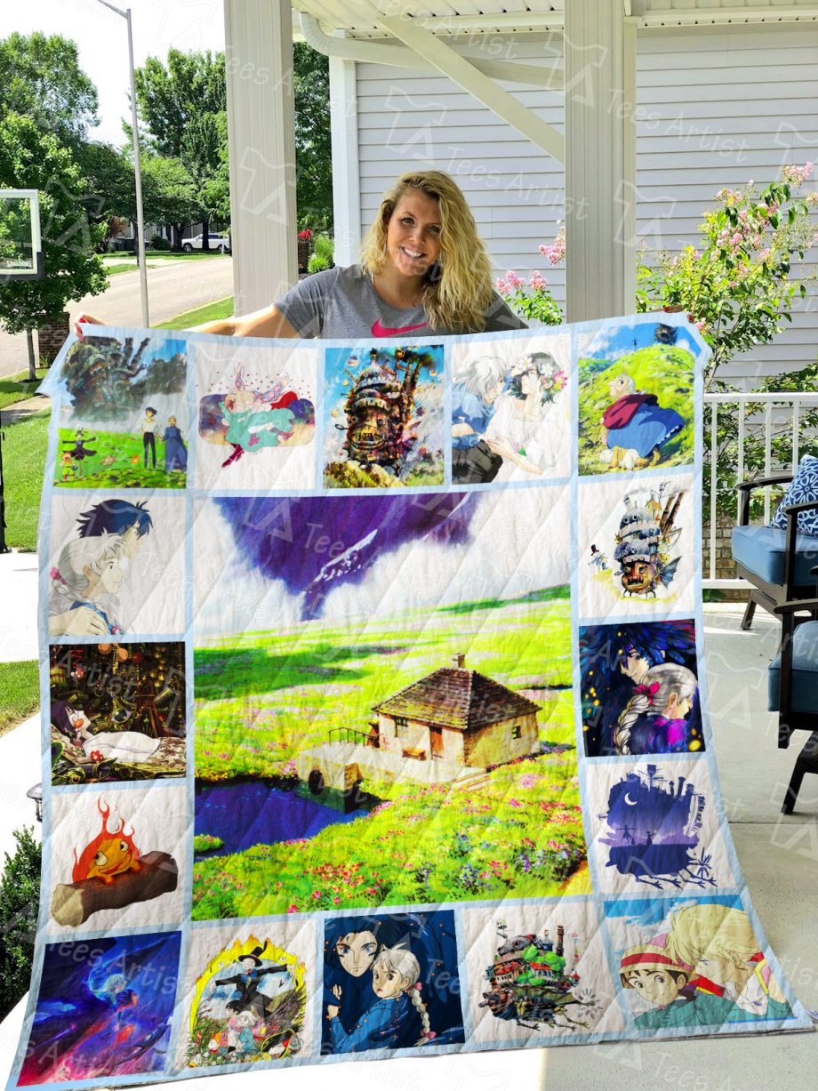 Howl's Moving Castle Quilt Blanket 0731