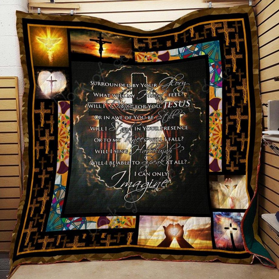 Boston CelticsJesus In My Heart Quilt Blanket