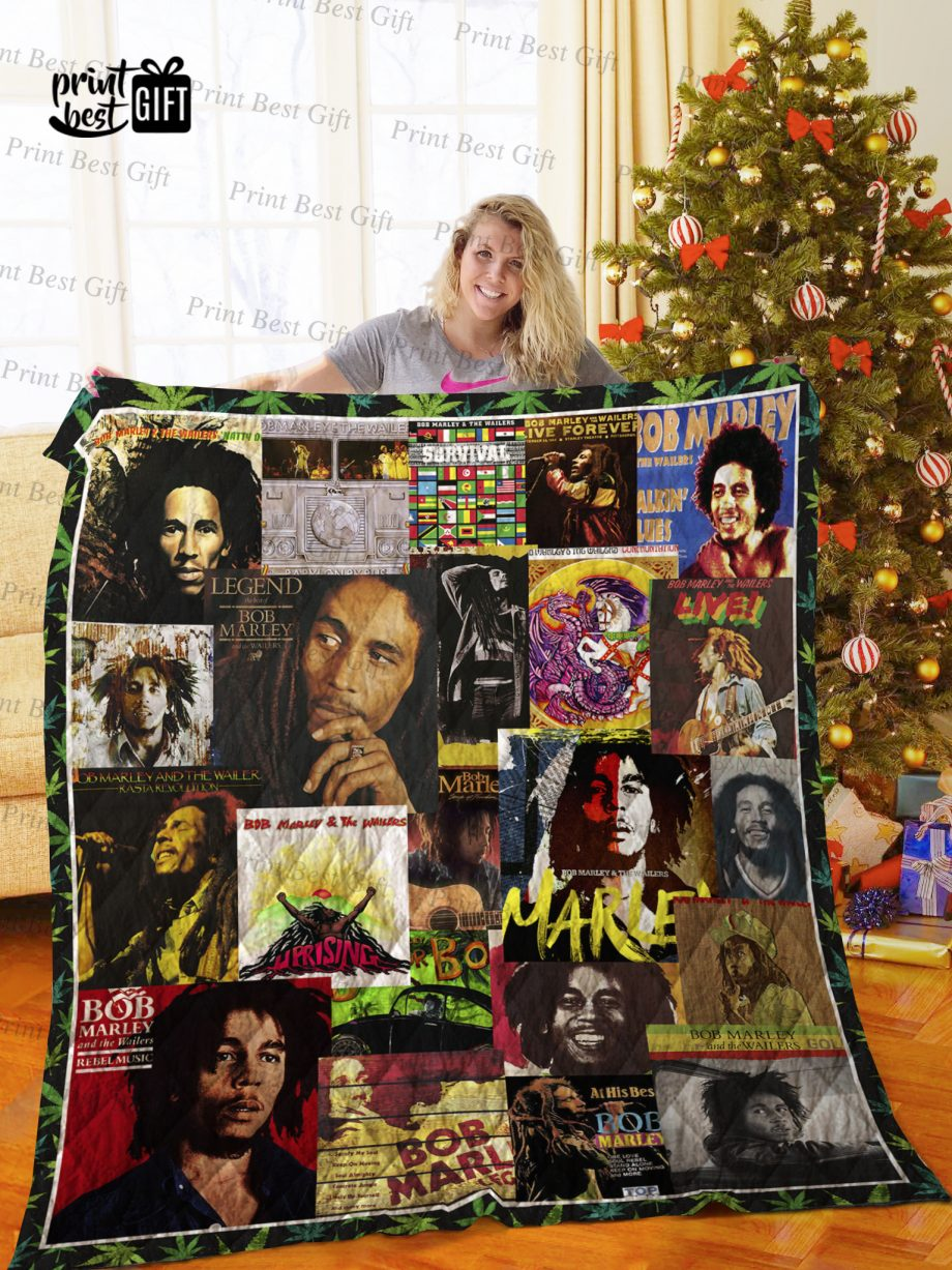 Bob Marley Albums Cover Poster Quilt Ver 3