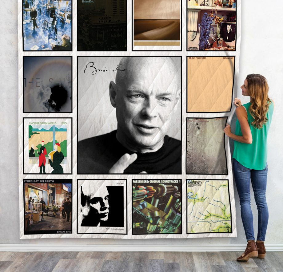 Brian Eno Quilt Blanket For Fans 01