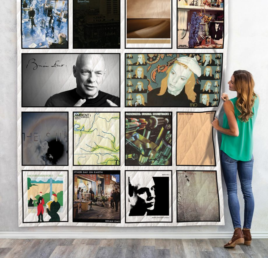 Brian Eno Quilt Blanket For Fans 02