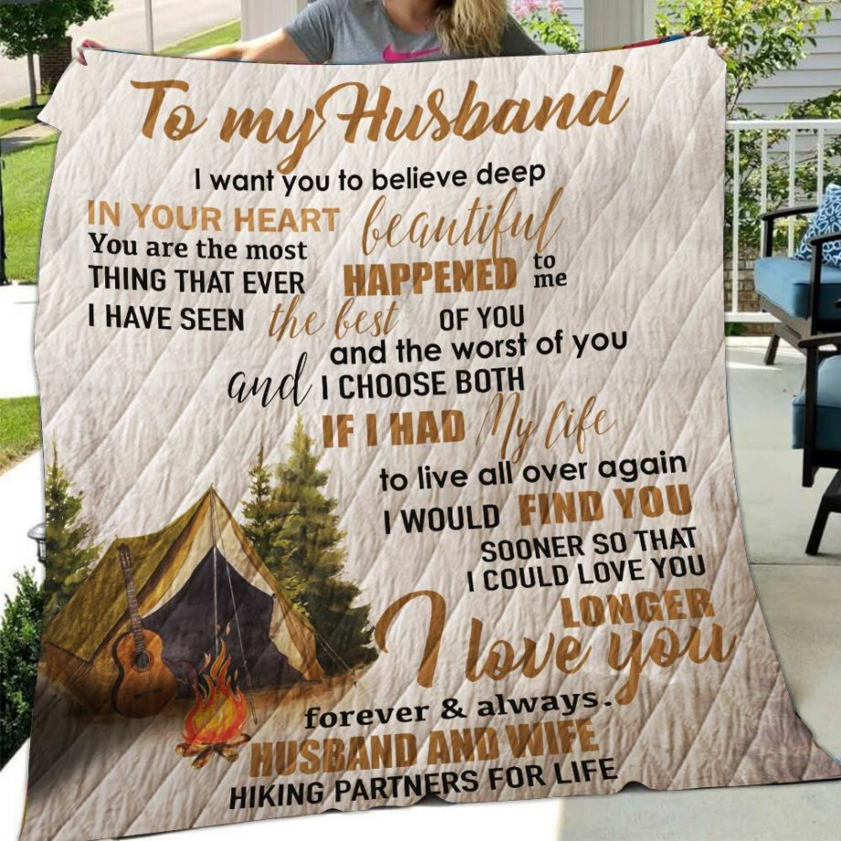 Camping QuiltTo My Husband I Want You To Believe-0489