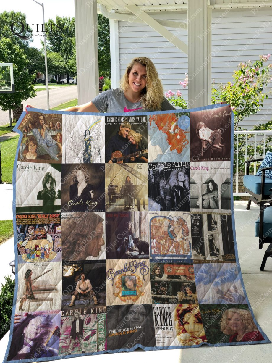 Carole King Albums Quilt Blanket For Fans Ver 25