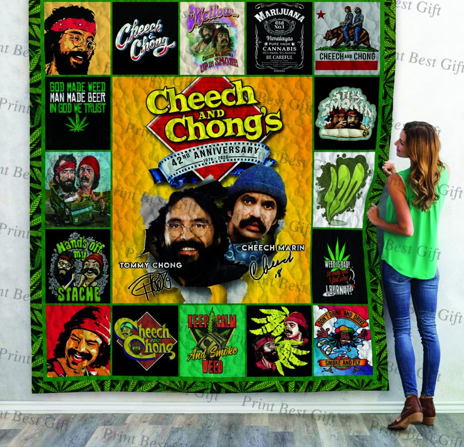 Cheech and Chong Poster Quilt Ver 6