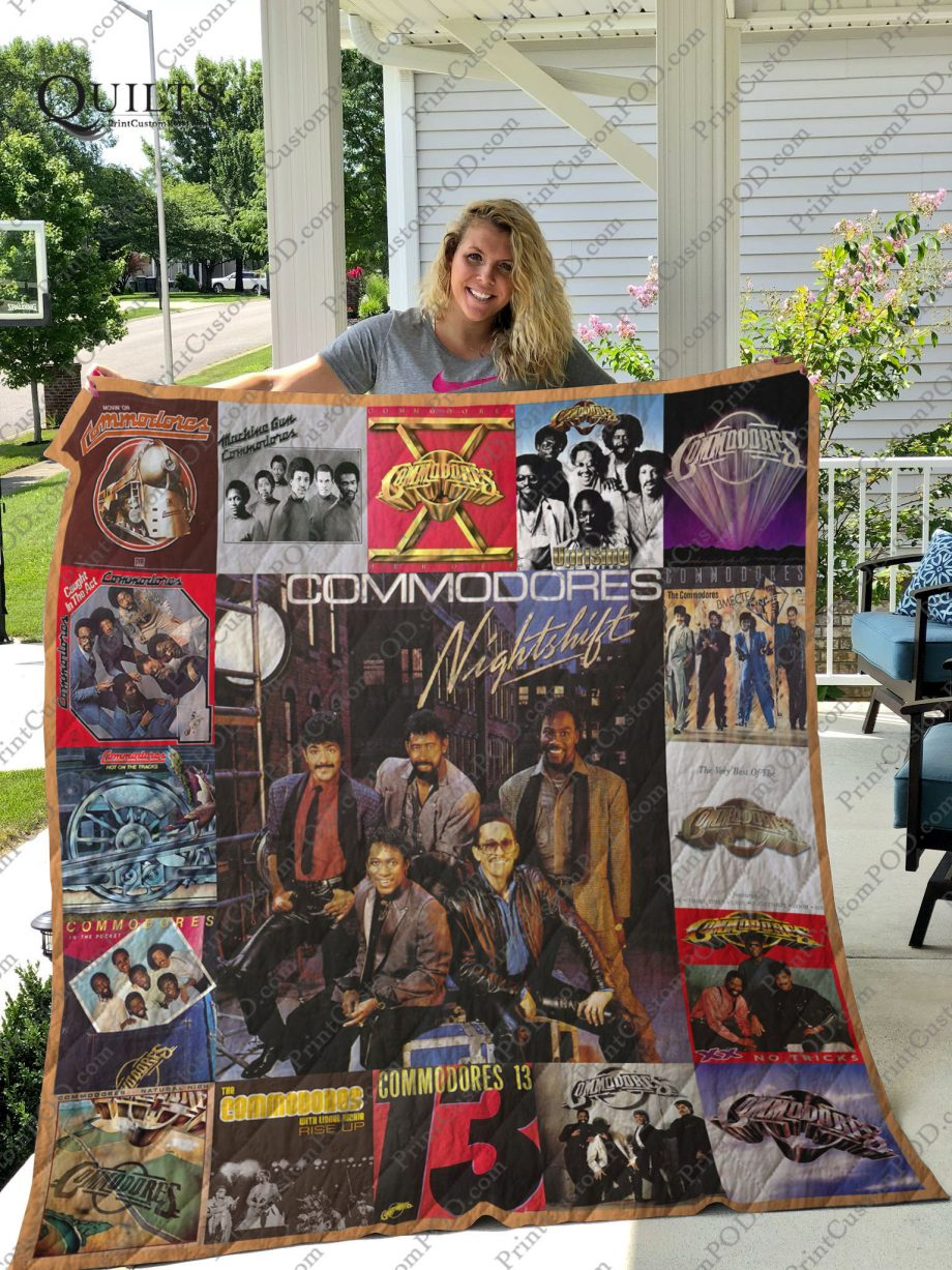 Commodores Band Albums Quilt Blanket For Fans Ver 17