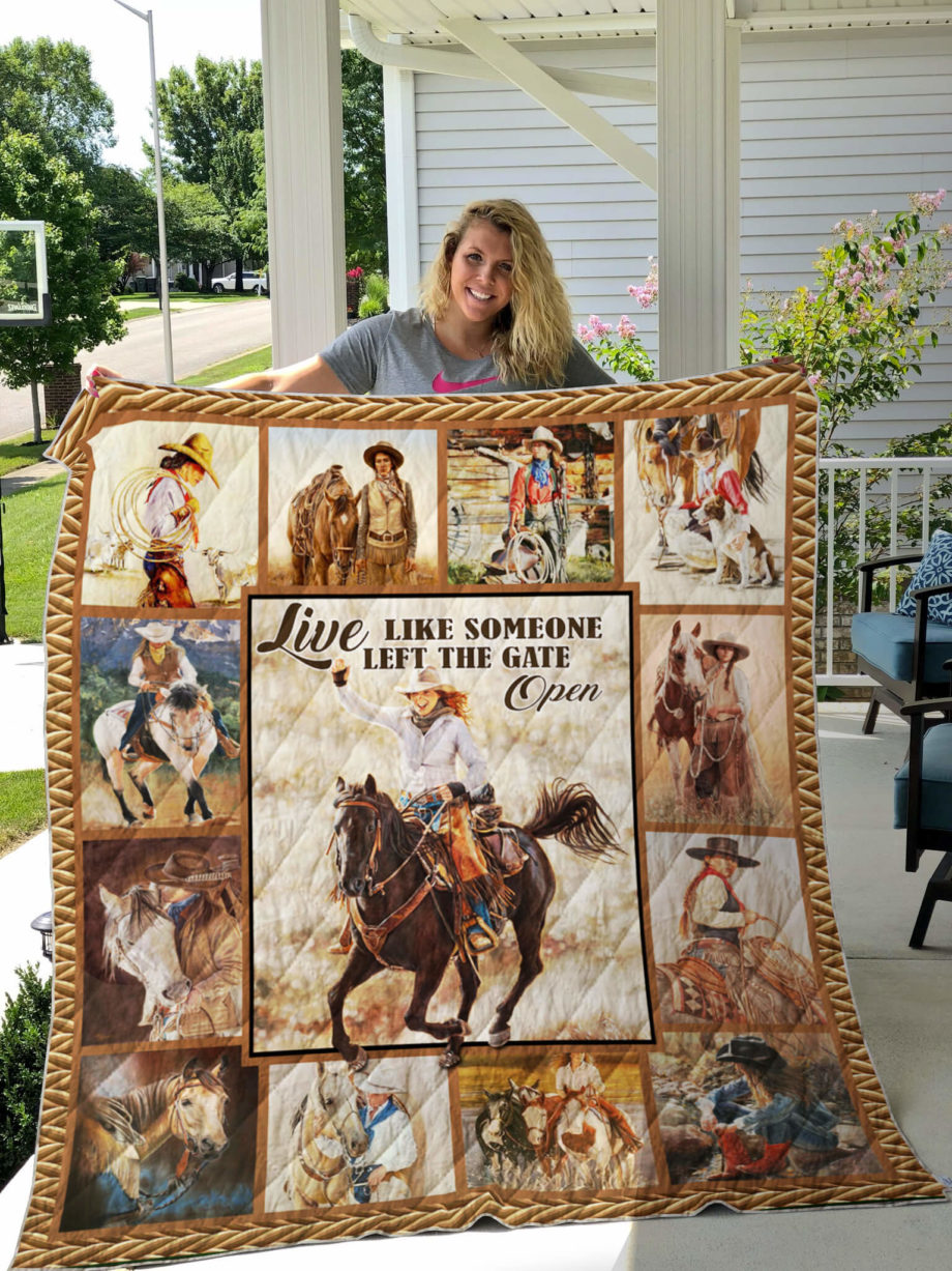 Cowgirl Quilt KPW776 KP-53