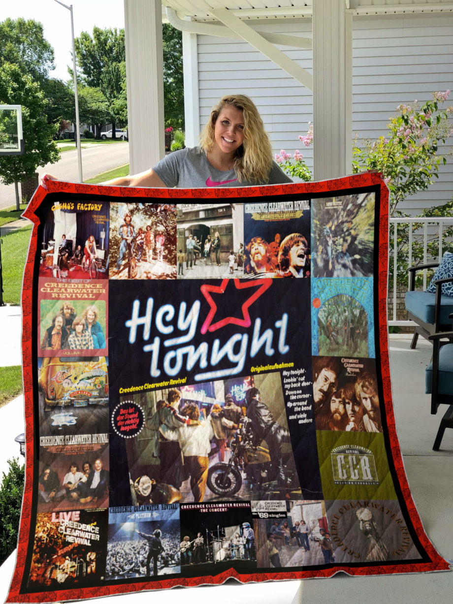 Creedence Clearwater Revival Albums Cover Poster Quilt