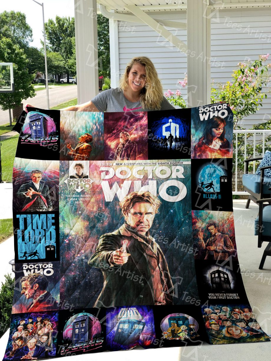 Doctor Who Quilt Blanket 0476