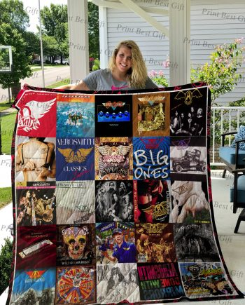 Aerosmith Albums Cover Poster Quilt Ver 2